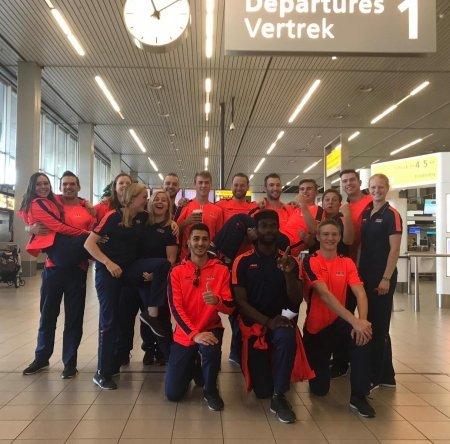 Bente Brandsma op weg naar EK Teamgym in Portugal
